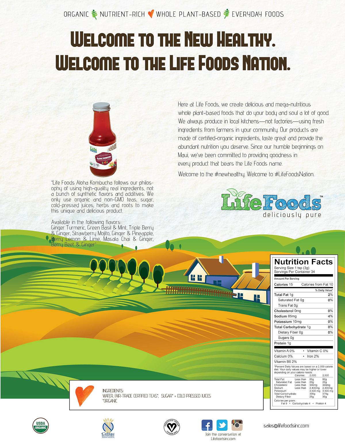 lifefoods-sell-sheet-aloha-kombucha-bottle