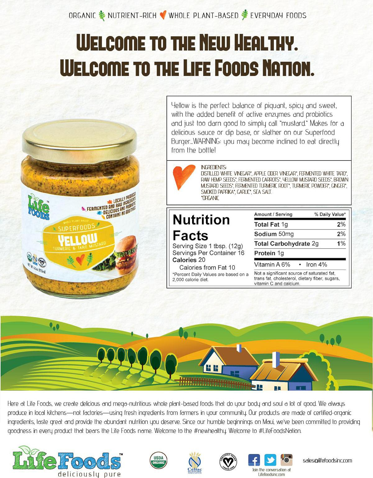 lifefoods-sell-sheet-yellow