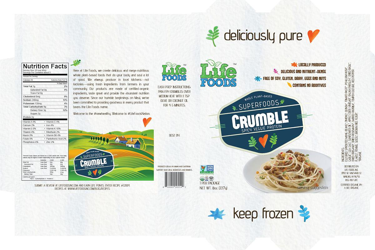 lifefoodsinc-packaging-superfoods-crumble-spicy-italian-veggie-protein